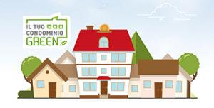 """Logo di """"il tuo condominio green"""""""